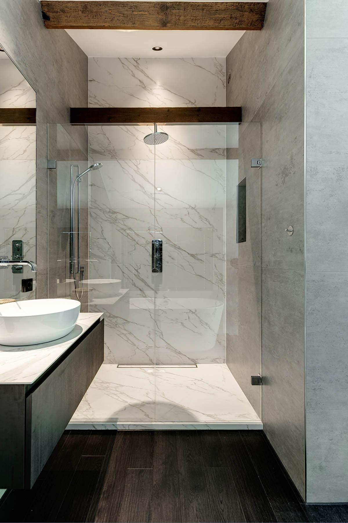 Natuursteen in de badkamer, Michel Oprey & Beisterveld, the art of living