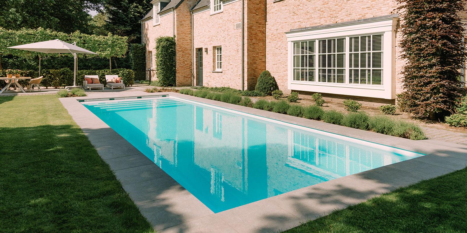 buitenzwembad, Art Starline, modern, zwembad in tuin, eigen zwembad