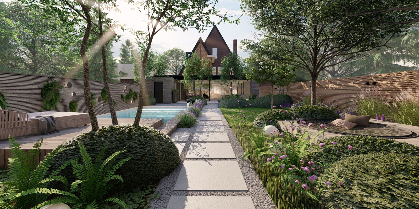 tuin inspiratie, Knops Tuinproject, tuin, The Art of Living