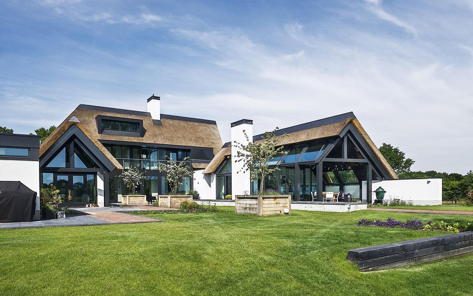 landelijk modern, van Dinther bouwbedrijf, groot, luxe, modern